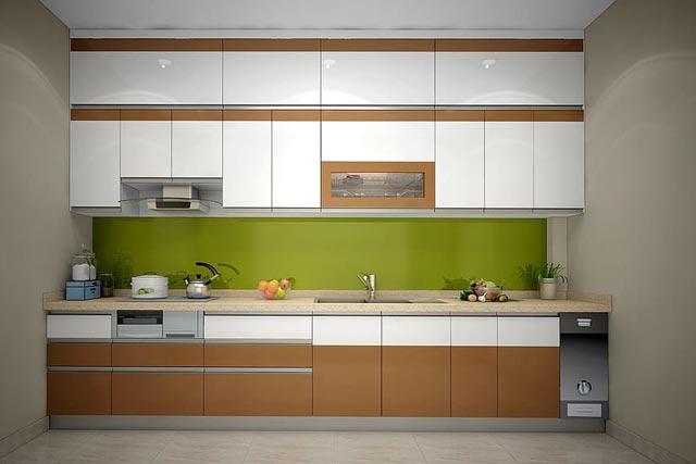 kitchen Tile Size