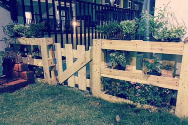 The Garden Fence (DIY)
